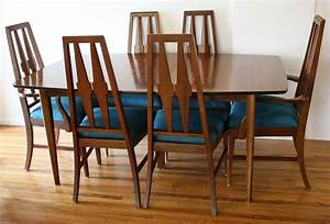 Cool Brown Laminated Mid Century Dining Chair Furniture