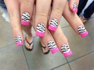 Easy pink nail designs easyday