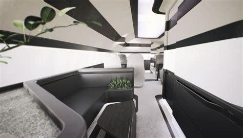 Interior Aircraft Design by Sabena Technics Airplane Interior Ora 239 To