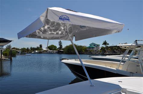 Boat Umbrella Reviews by Hydra Shade 8 Square Boating Umbrella 4 Kit