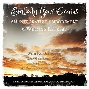 Embody Your Genius Retreat - Body Happy