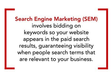 Define Seo Marketing by Sem Search Engine Marketing Advance Ohio