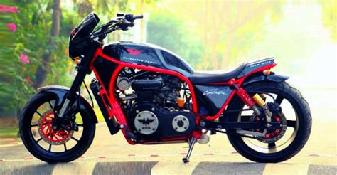 5 Hottest Home-made Indian Motorcycles With 'car-engines