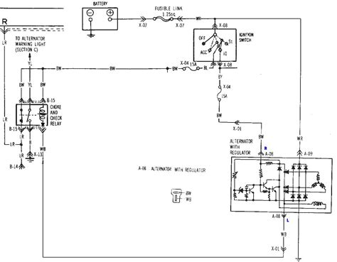 1984 Mustang Charging System Diagram by Voltage Regulator Removal Wire Question Rx7club