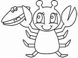 Coloring Lobster Recipe Cocktail Dibujos Colorare Disegni Manualidades Colorear Aragosta Langostas Pinch Mango Langosta Crab Justapinch Realistic Popular Shack sketch template