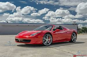 Red Ferrari 458 Spyder by Ultimate Auto - GTspirit