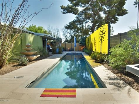 Awesome Pool Area Clean, Organic And Vibrant Dreamy