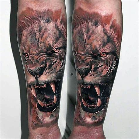 animal tattoos  men cool living creature design ideas