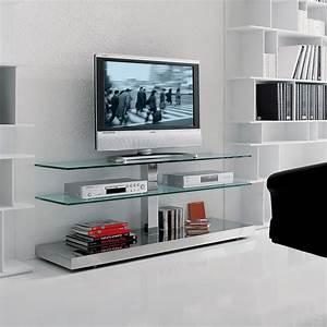 Tv Rack Glas Mit Rollen : play tv rack aus glas von cattelan arredaclick ~ Bigdaddyawards.com Haus und Dekorationen
