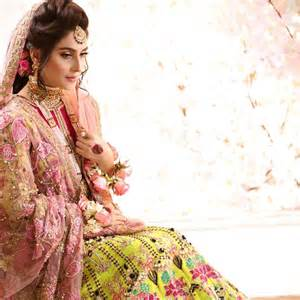 Actress Ayeza Khan Latest Bridal Photo Shoot for Salon
