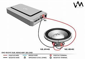 4 Ohm Dual Voice Coil Wiring Diagram