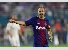 Iniesta signs lifetime contract with Barcelona La Liga