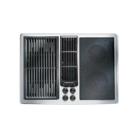 jenn air cooktops designer line modular electric downdraft cooktop 30