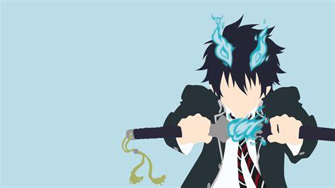 Blue Anime Wallpaper - rin okumura hd fondo de pantalla and fondo de