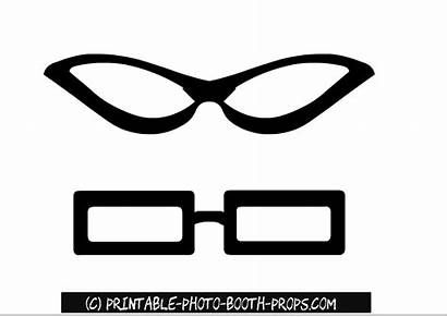 Props Booth Glasses Printable