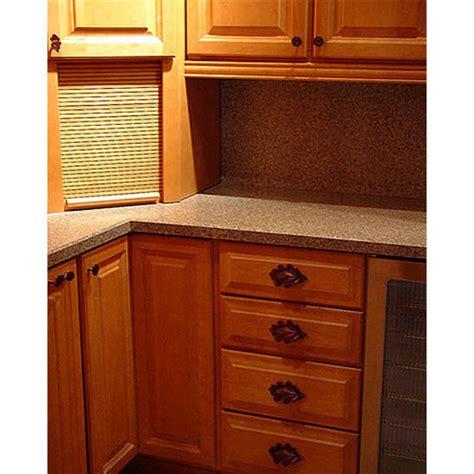 woodland collection  wide oak leaf cabinet pull