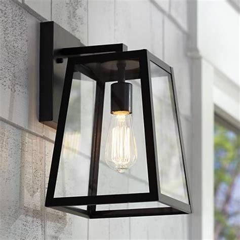 arrington 13 quot high mystic black outdoor wall light