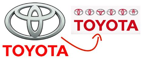 cool toyota logos 15 logos with hidden secrets that you probably didn t know