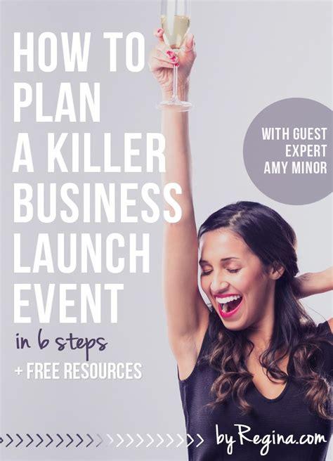 plan  killer business launch event   steps
