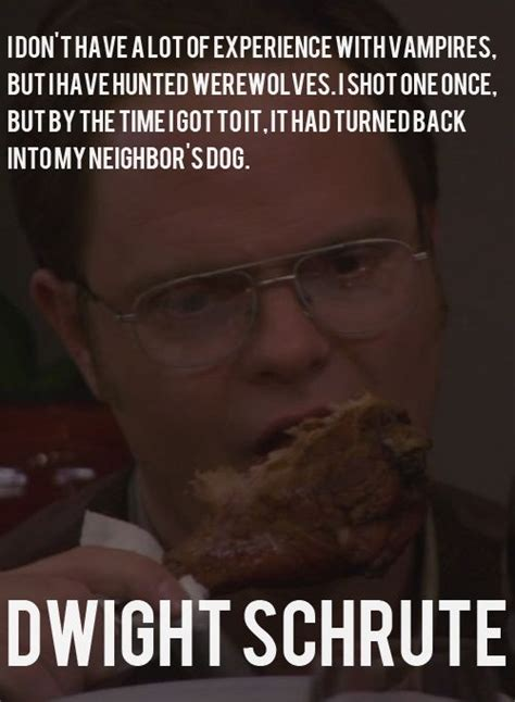 Dwight Schrute Resume Quote by Hahaha Dwight Never Gets Dunder Mifflin Scranton Branch The Office
