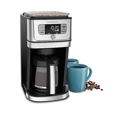 Here is how to clean your cuisinart coffee maker and descaling instructions. Cuisinart® 12-Cup Grind N' Brew Coffee Maker   Bed Bath and Beyond Canada