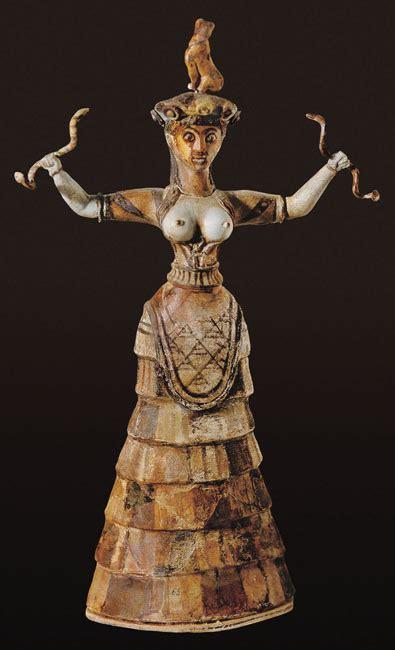From Snake Goddess to Medusa