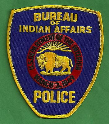 bia bureau of indian affairs bia bureau of indian marijuana enforcement patch