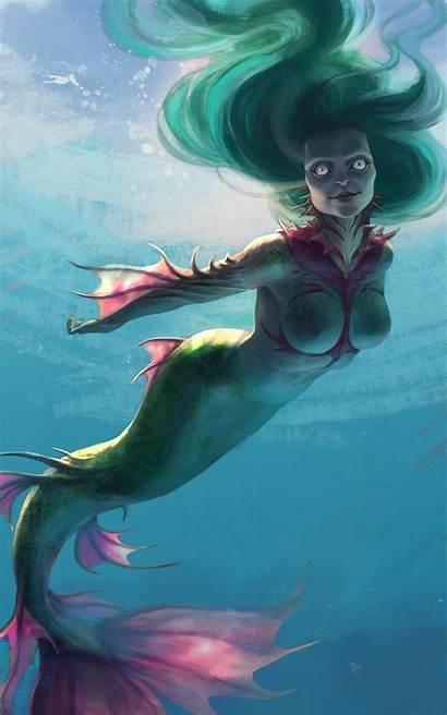 Mermaids Wallpapers Rusalka Underwater Fantasy Desktop Wallpapercave