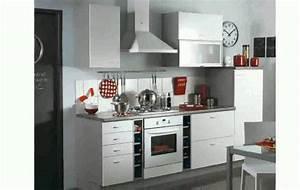 cuisine petite cuisine equipee modele cuisine amenagee With modele de petite cuisine