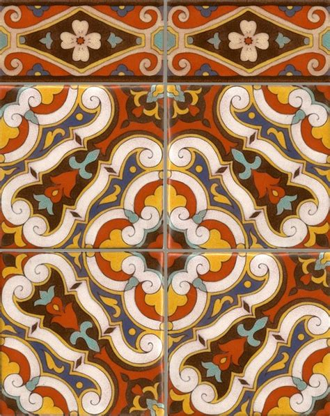 how to tile a kitchen wall turkish medallion mediterranean wall and floor tile 8922