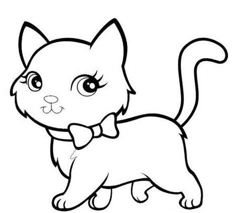 • menggambar dan mewarnai kucing, drawing cat, coloring cat. Gambar Mewarna Kucing   gambar mewarnai hewan
