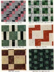 retro floor patterns to recreate with vct vintage trailer