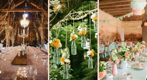 idee decoration mariage style campagne chic
