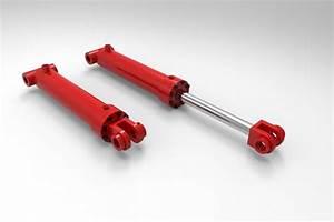 hydraulic cylinder - - 3D CAD model - GrabCAD
