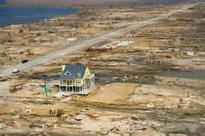 House Standing After Hurricane Ike