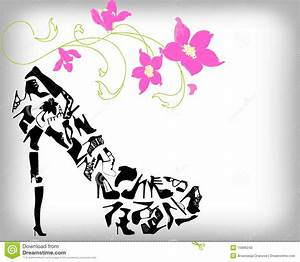 Fashion Shoes Background Stock Photo - Image: 15686240