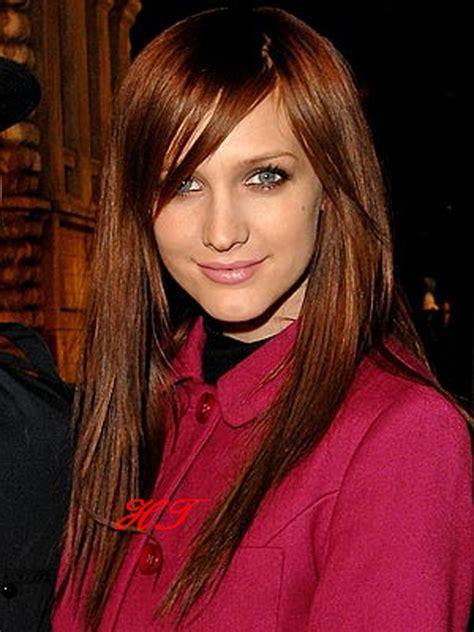 Dark Auburn Hair Color Brown Eyes Hair Color