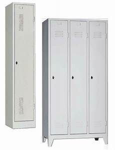 Armoire Vestiaires Mtallique 1 2 3 Portes Brand New Office