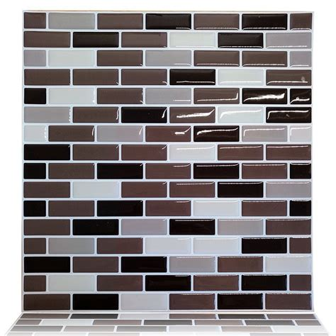 peel and stick kitchen wall tiles cocotik vinyl wall tile peel and stick wall kitchen tile 9078