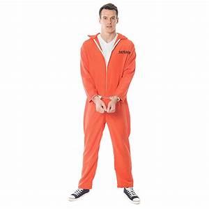 Orange Escaped Prisoner Costume - £14.99 - 50+ In Stock ...