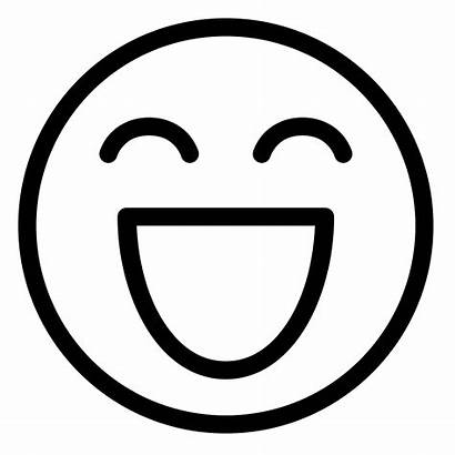 Smile Smiley Emoticon Icons Vector Clipart Laugh