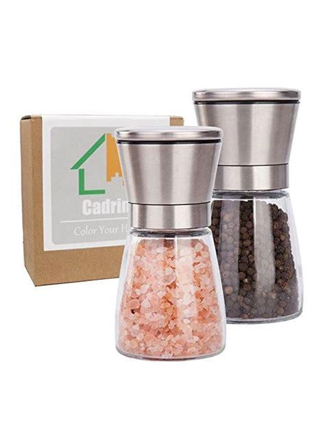 moulin cuisine cadrim moulin à poivre et sel manuel moulin à sel moulins