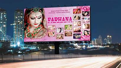 Parlour Banner Template Billboard Photoshop Salon Psd
