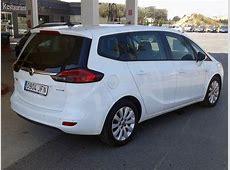 Opel Zafira Tourer 7Seater Used car costa blanca spain