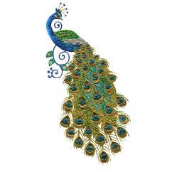 embroidery designs swnpa128 peacock embroidery design