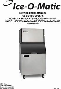 Ice O Matic Ice0250a5 T5 W5 Users Manual