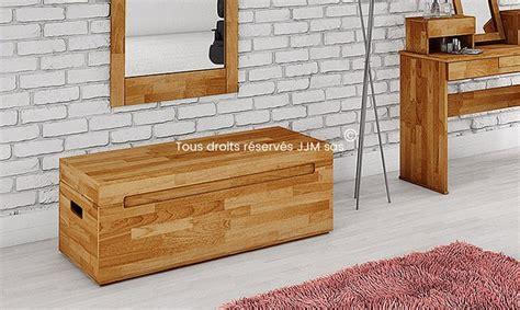 coffre chambre coffre de rangement pour chambre bois massif
