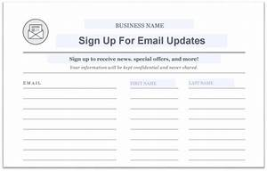 how purchased email lists can destroy your email marketing With email mailing list template