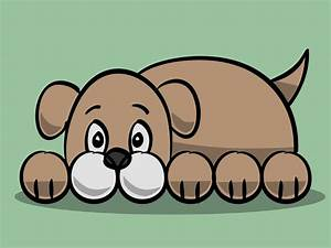 How to Draw a Simple Cartoon Dog: 11 Steps (with Pictures)