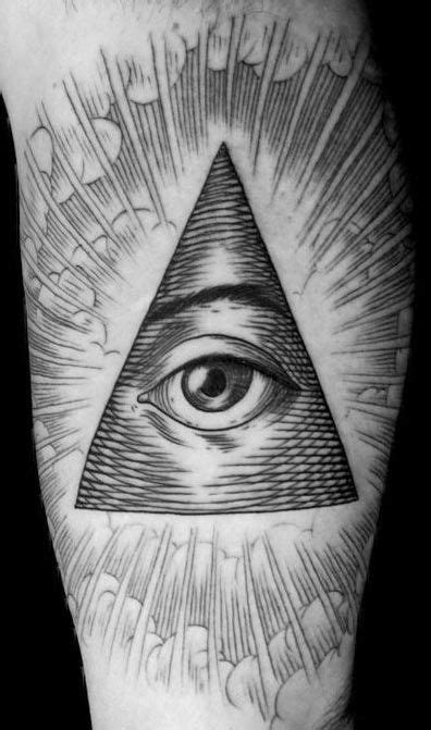 If you would look at a US dollar bill, you'll find that there's an Eye of Providence there